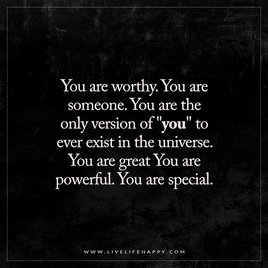 You are…