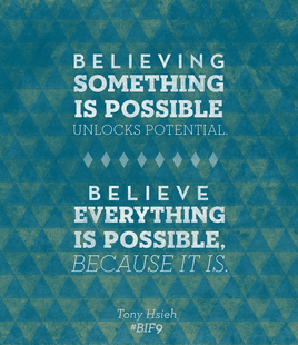 Everything is possible.