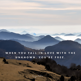 Fall in love with unknown