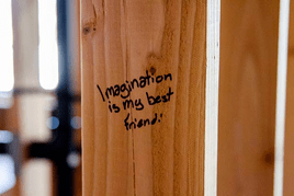 Become a friend of your imagination