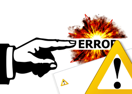 Error found.