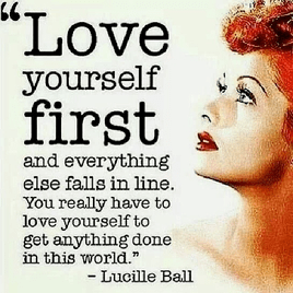 Do yourself a favour and love yourself.