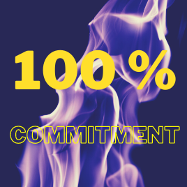 The importance of commitment.