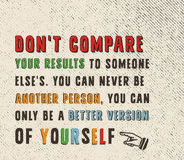 Compare yourself.