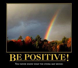 How to be positive?